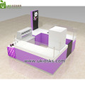 Newest rolled ice cream kiosk, rolled yogurt food shopping mall kiosk design and customize