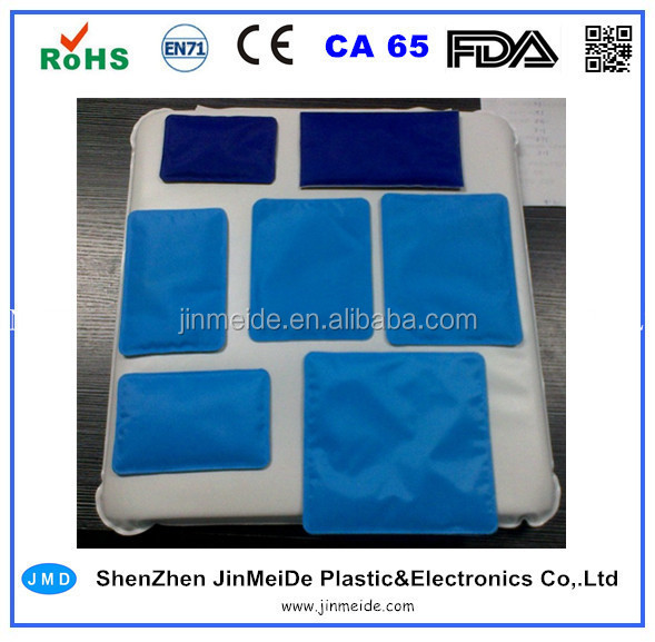 Different Sizes Gel Ice Pack / Custom Gel Pack / Pain Relief Cold Compress Gel Made in China