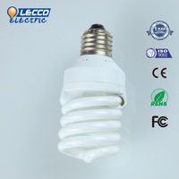 Cheap Price T2 Full spiral 20W fluorescent energy saving lamp color cfl
