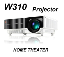 W310 2800 lumens Projector native 1280*800 Pixels with Widescreen 16:9 picture support 1080P(Full HD) Dynamic Image home theater