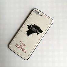 painting game of thrones retro design 3D embossment game of thrones phone case