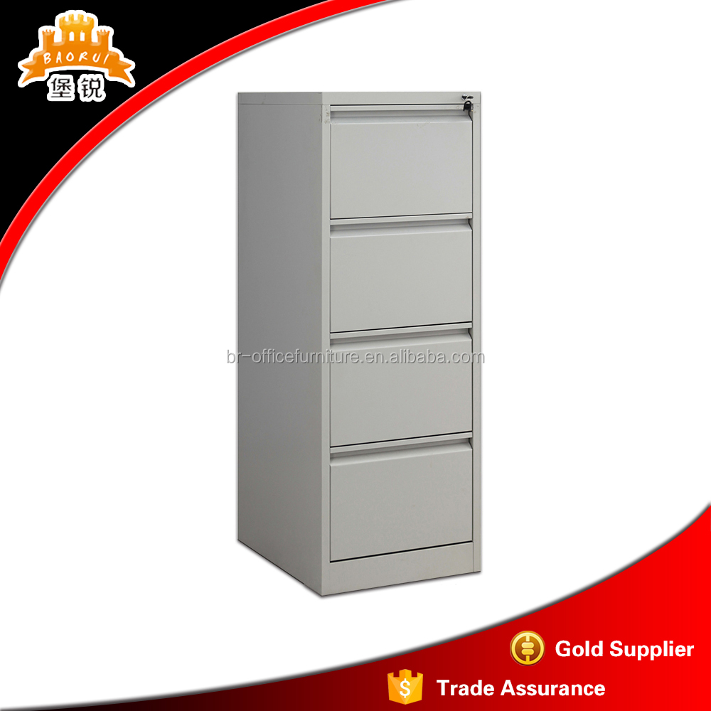 4 Drawer Cheap Colorful Metal Vertical File Cabinets