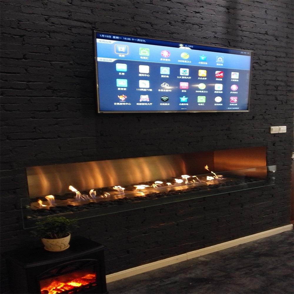 modern bio ethanol real fire fireplace with remote control u0026nice