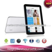 sanei tablet pc N77 Fashion sales promotion cost Allwinner A13 1.0GHz android 4.0 512MB+8GB