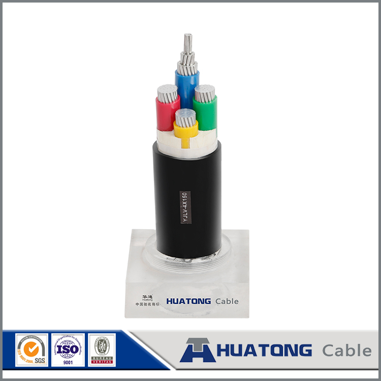 XLPE 0.6/1kv power cable price YJLV 150mm2 power cable with 4 cores