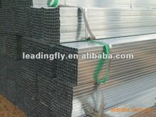 small size galvanised welded rectangle pipe