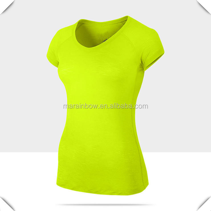 Custom logo ladies athletic t shirt dry fit ladies custom for Custom dry fit shirts