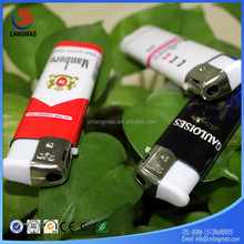 LM-003D top quality electric lighter, plastic cigarette ISO9994 lighter