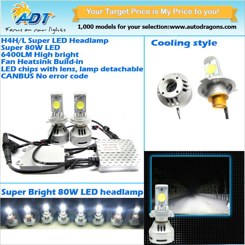 Auto Car CREES XM-L2 LED Headlight H11
