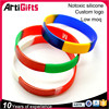 Wholesale decorative 202mm embossed silicone bracelet factory