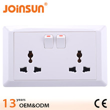 Made in China double 3-feet universal waterproof electrical floor box