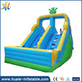 Commercial inflatable giant slide , inflatable jumping slide for sale