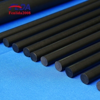 Good reputation 100% virgin pure black extruded ptfe rod