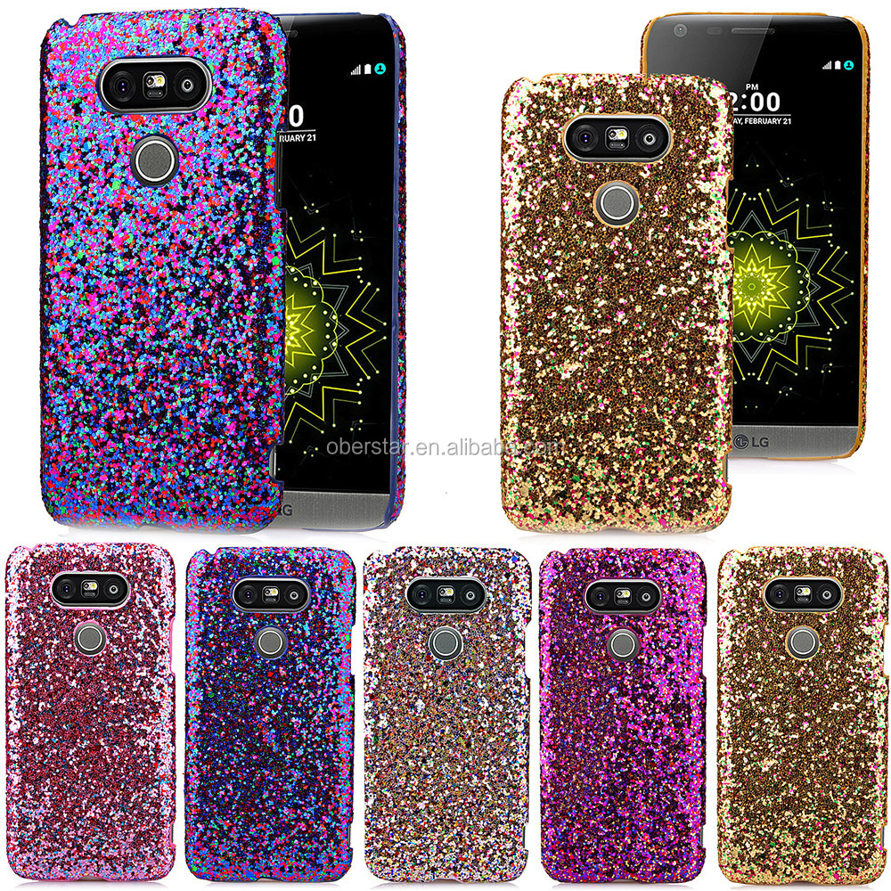 Charms Bling Diamonds Rhinestones Gems Hard Case For LG Mobile Phones G5