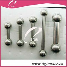 New design body jewelry barbell tongue piercing jewelry