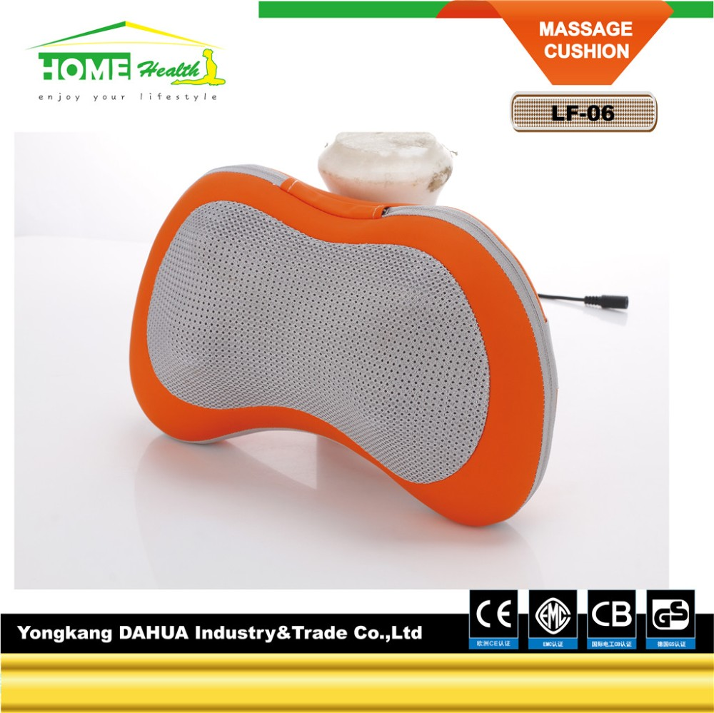 2017 Hot Sell Head Shoulder Back Body Neck Kneading Shiatsu Massage Pillow For Home Or Car