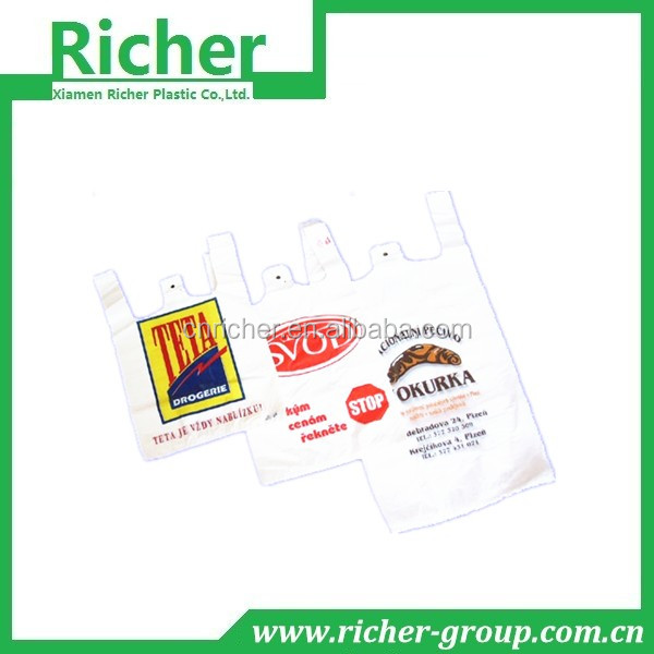 SHOPPERS /SHOPPING BAGS PLASTIC T SHIRT BAGS
