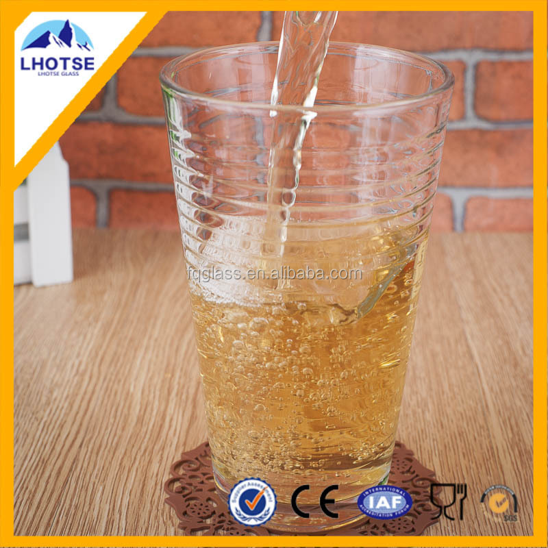 8oz Classic Drinking Glass Cup from Faqiang Glass Factory