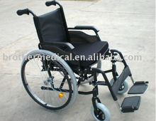 CE certificated Aluminum factory wheelchair with samples free and foldable BME4639
