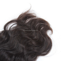 Top quality wholesale raw curly brazilian virgin hair with closure
