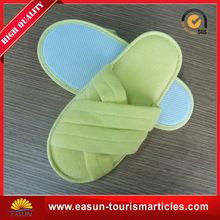 Low price disposable slipper set soft traveling slippers new white plush slippers