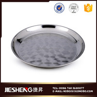 lowest price sale stainless steel round medical tray