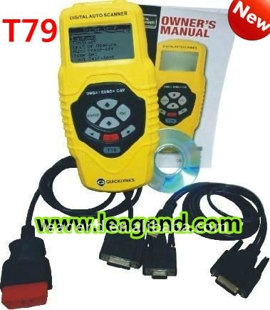 Free update OBD2/EOBD Auto scanner for Amercian car /vehicle diagnostic tool T79-data printable ,review live data graph