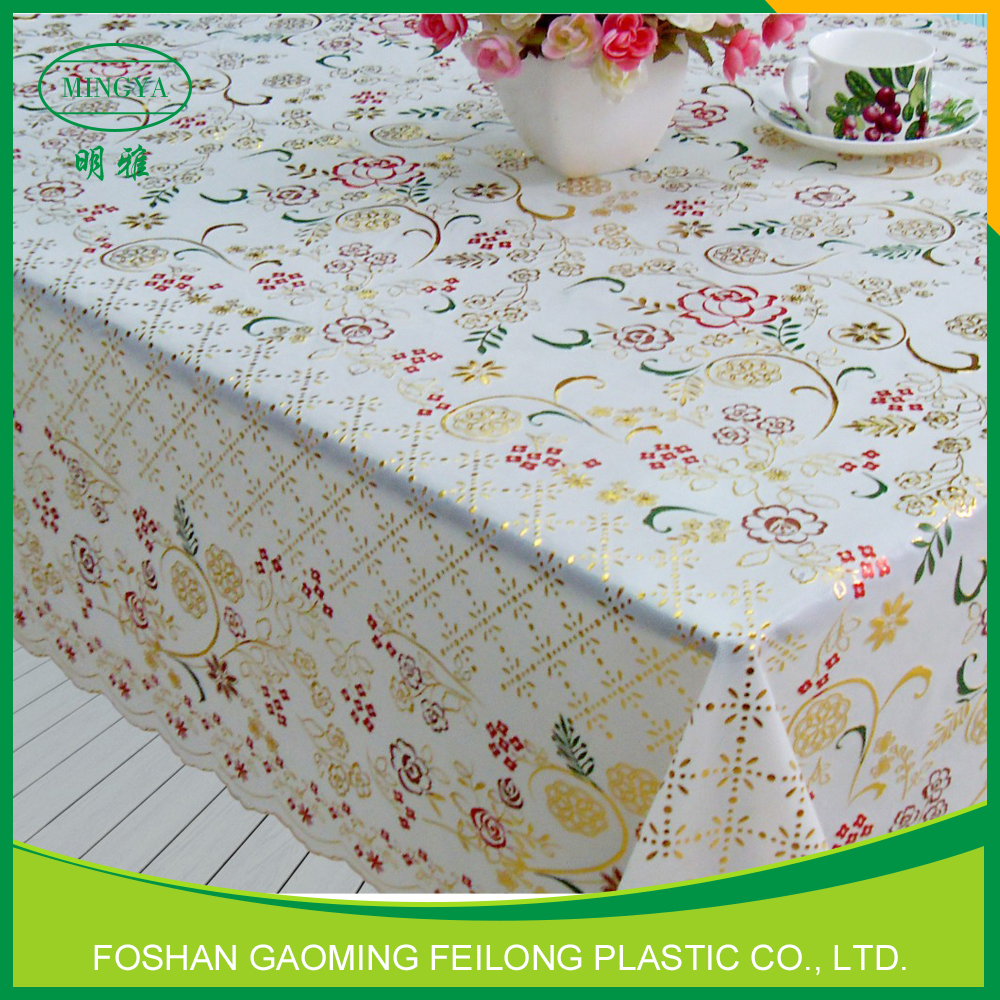 Eco-Friendly Plastic Tablecloths Kitchen Curtains Tablecloth