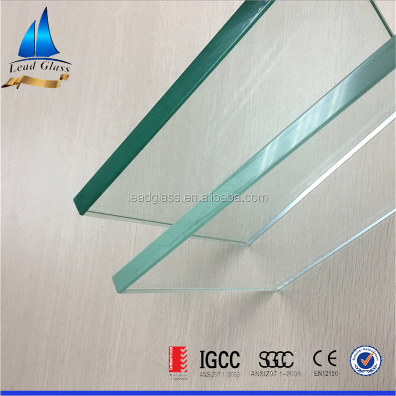 12mm Ultra clear tempered glass fence panel with competitive price