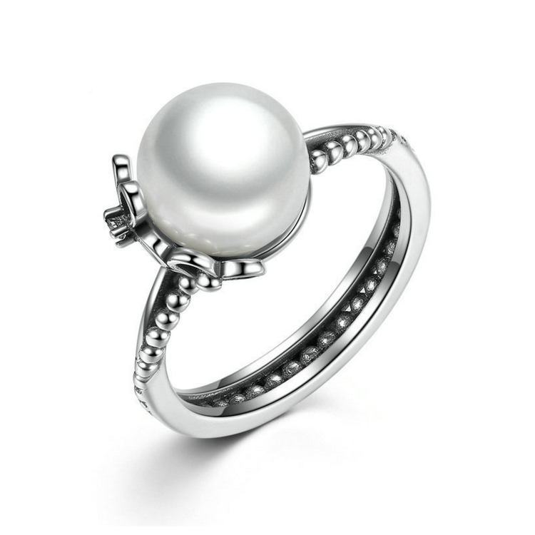 taidian brand 925 sterling silver pearl ring mountings pearl pearl jewelry