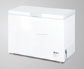 New type single top open door chest freezer 256L