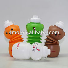 foldable water bottle dog shaped