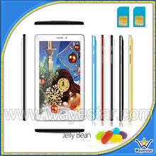 "Android 4.1 tab phones cheap tablets pc 7"" MTK6515 sim cards*2"
