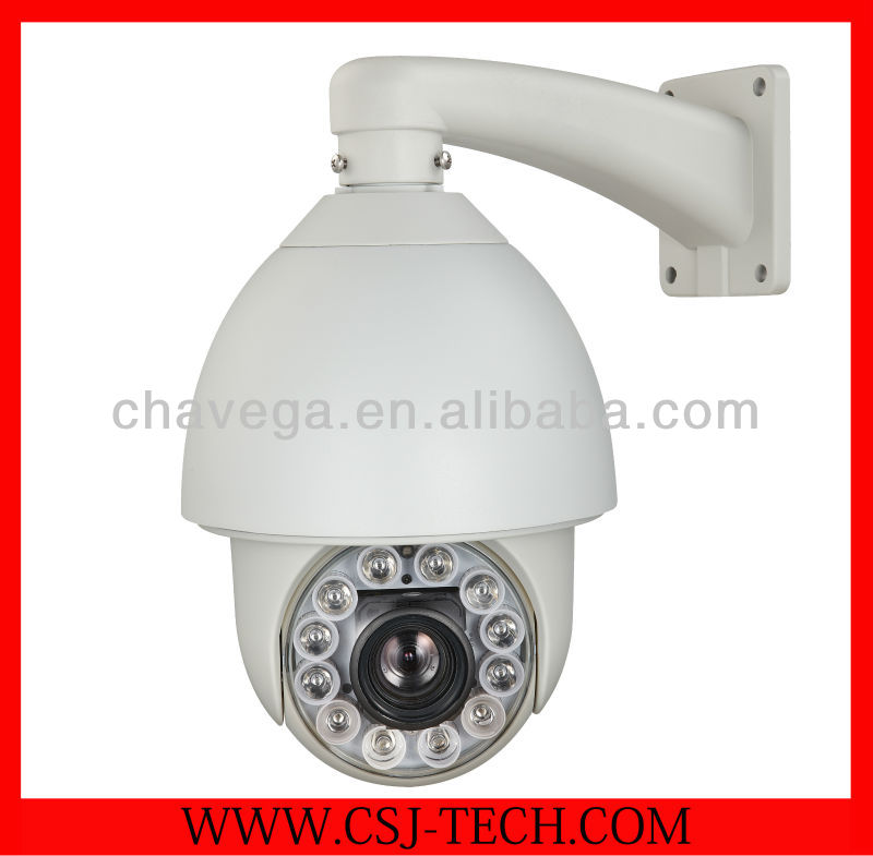 High Quality 6 Inch 27x IR High Speed Waterproof HD Dome PTZ 700 TVL CCTV Camera