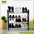 Shoe rack organizer cheap portable standard 4-tier floor standing shoe storage rack