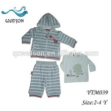 velour 60% cotton 40% polyester lovely baby clothing homewear