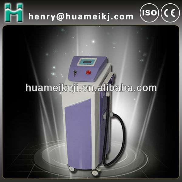 Nd yag laser tattoo removal equipment of dermatology laser
