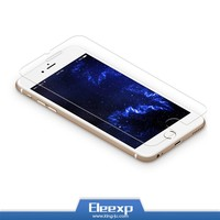 Custom packing 0.33mm high clear tempered glass screen protector for iphone 4 5 6s