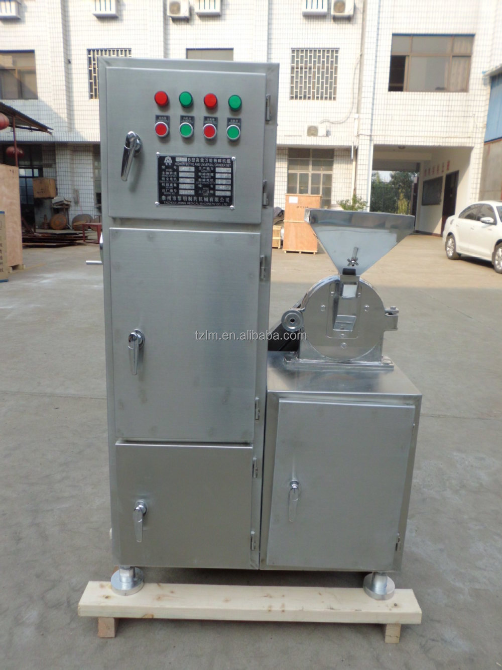 cryogenic tea leaf powder pulverizer