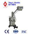 70mA SF70BY mobile radiology x-ray unit with CE, Shanghai Guangzheng