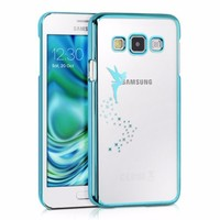 Printed Clear Hard Back Case For Samsung Galaxy A3