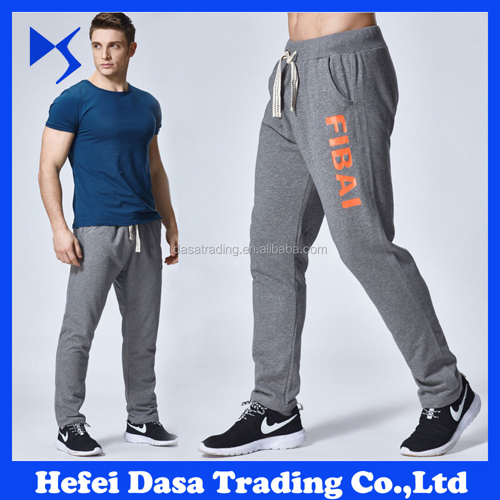 training men's joggers fitted running pants for men sportswear men's pants 2017