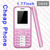 D609 old model Mobile phone for elderly with sos and big keyboard and mini small size mobile phone importer