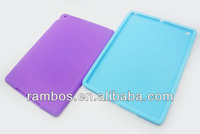 For iPad 5 for iPad Air Silicone Case Cover Rubber Gel Protective Silicone Tablet Case
