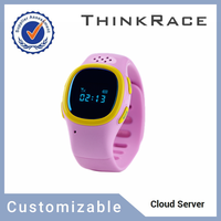 Cheap GPS tracker ce rohs smart watch with Thinkrace Customizable GPS Tracking system PT520
