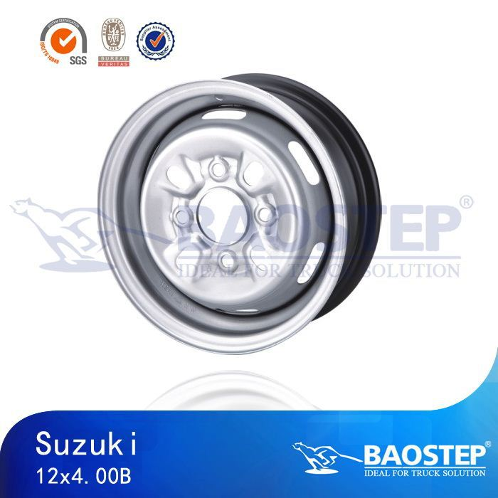 Cheap 12x4.00B chrome auto steel car steel wheel steel rim for sale