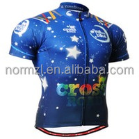 Women Cheap Cycling Jersey with customized fashionable free design,high quality and sublimation
