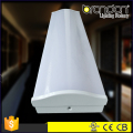 4/5/6ft China Factory Dimmable commercial wraparound profile pendant ceiling T5/T8 Fluorescent led tube light fixture