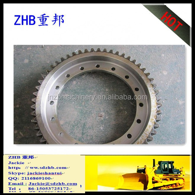 heavy equipment SD13/SD16/SD22/SD23/SD32/SD42 SHANTUI bulldozer spare parts gear ring