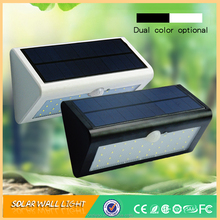38leds ABS shell motion sensor solar wall light
